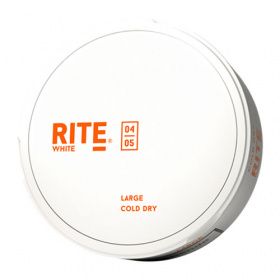 Rite Cold Dry Large White Portionssnus