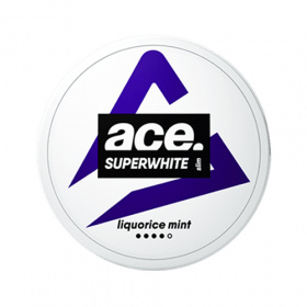 Ace Superwhite Liquorice Mint Slim Portion