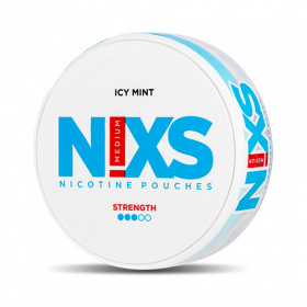 Nixs Icy Mint Strong All White Portion