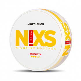 Nixs Minty Lemon Strong All White Portion