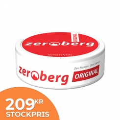 Zeroberg Original Portion