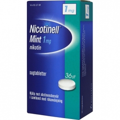 Nicotinell Sugtablett Mint 1mg