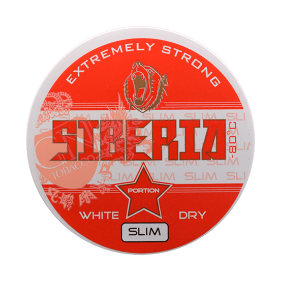 Siberia White Dry Slim Portion