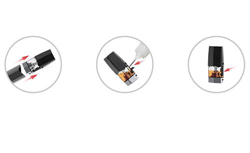 Hur du fyller på Infinix pod med e-juice