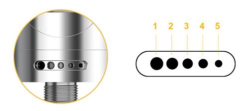 Nautilus 2 tank - innovativ luftstrøm