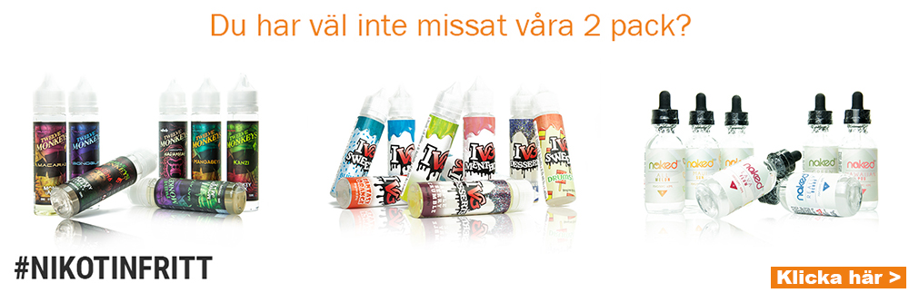 2-pack E-juice