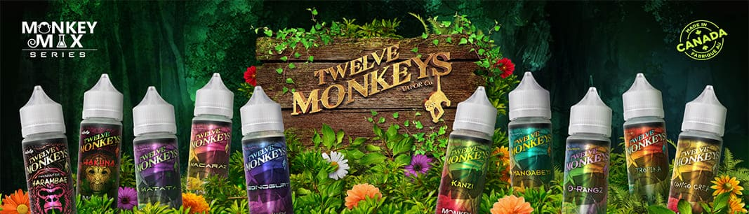 Twelve Monkeys E-juice logo