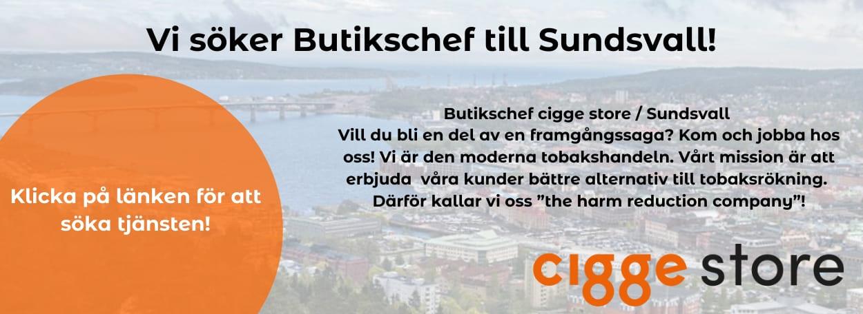 Butikschef banner